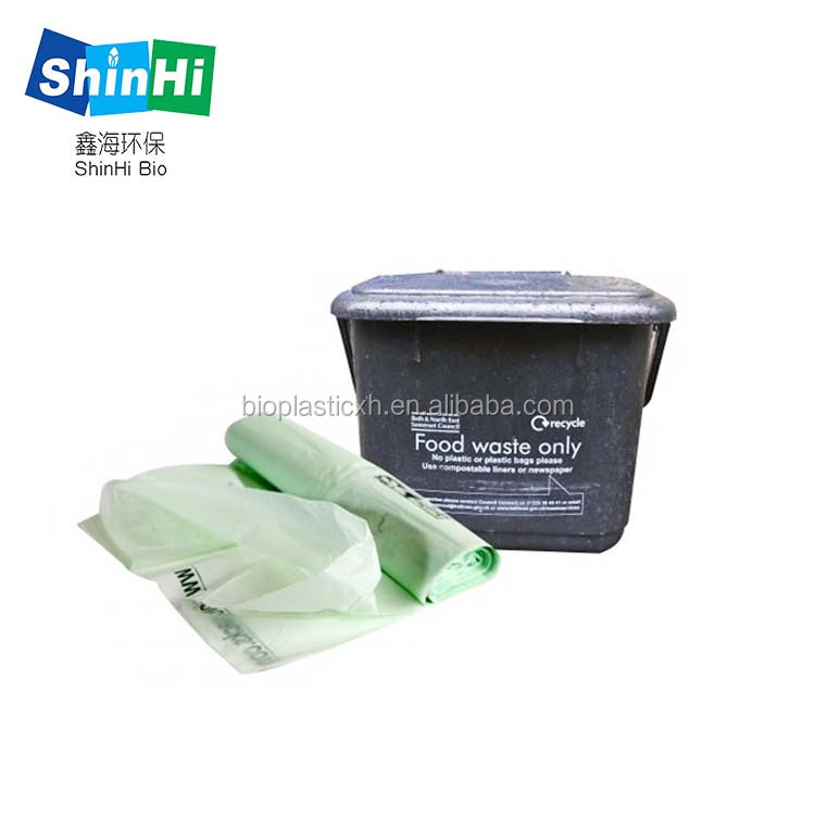 wholesale cornstarch made eco friendly biodegradable garden waste bag