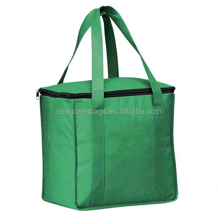 BeeGreen Premium polyester drawstring cooler bag with custom size