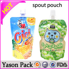 YASON all kinds of fruit drink and soybean milk nozzle standing spout pouch for juice
