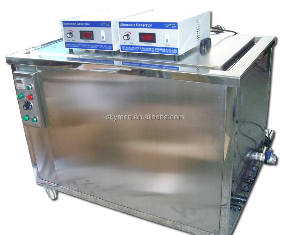 Skymen 3600W strong power 28khz frequency engine block ultrasonic cleaning machine