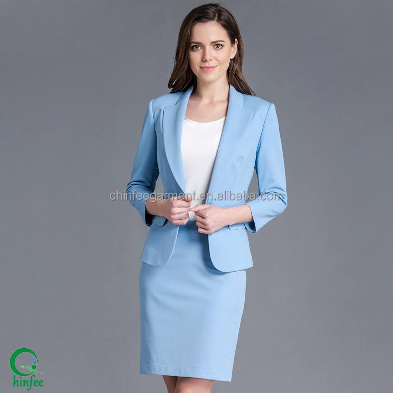 Women Office Suits Model Skirt Korea Women Suits