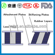 Low Price High Quality elastomeric bearing pads for bridges (HOT)