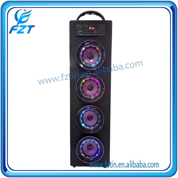 2016 newest arrive RMS 3WX4 design box speaker sound system UK-22 2.0 tower high quality from Fztin