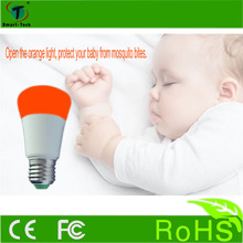 Newest function Mosquito lamp , Most practical color changing bulb , free rein led bulbs dimmable