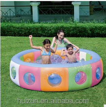 Large wholesale thickened insulation double drainage play baby shower and children's inflatable swimming 51064 Window pool