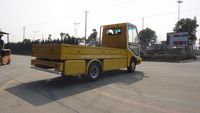 Electric truck vehicle, EG6042H, 2.0T, CE,yellow with colsed cargo box