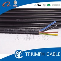 PVC insulated cable shielded wire UL 2464 22A 2 cores