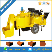 auto clay brick machine M7MI TWIN SUPPER compressed earth interlocking brick block making machine