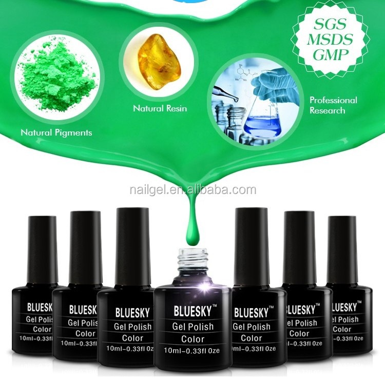 Bluesky Nail Gel Best Sale Gel Polish 2016 Private Label Gel Nail Polish Nail Art
