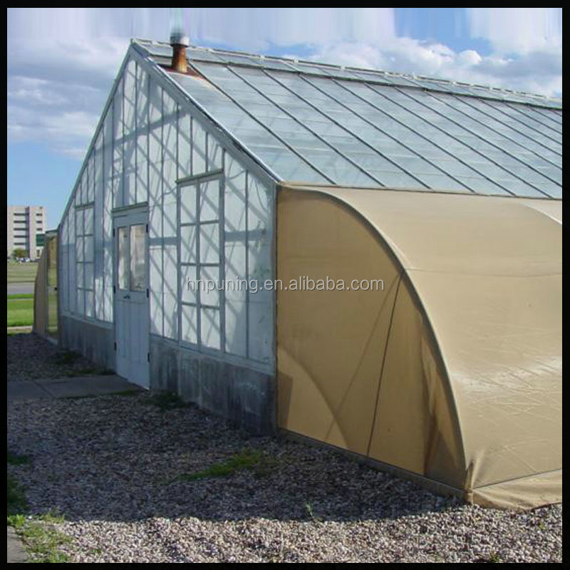 Hot sale factory directly polycarbonate hollow garden green house sheet