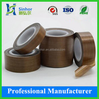 High Temperature PTFE Teflon Adhesive Tape For Heat Sealling Packing