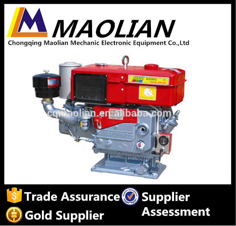 Jiangdong Top Water Cooled Single Cylinder Diesel Engine For Generator