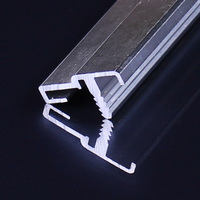 Anodized Aluminum Extrusion Grade Nice Step Led Aluminum Profile Lighting Application Aluminium Profile