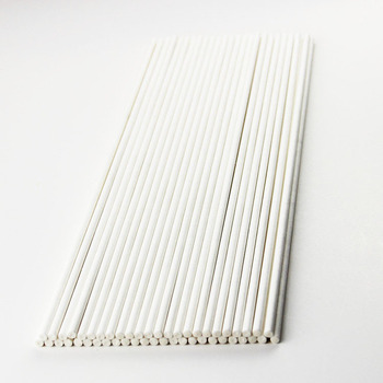 4.0mmX203mm white long paper stick for cotton candy