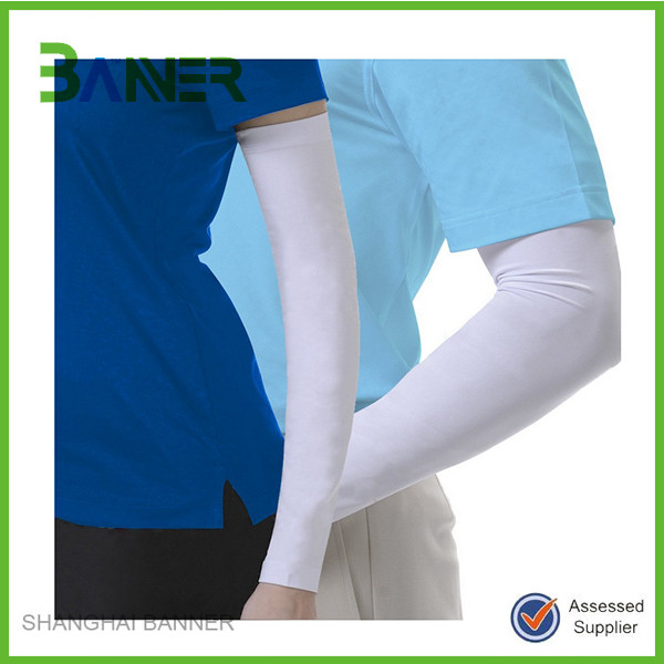 Wholesale New Design spandex Sport elbow pad Arm Sleeves For Chef