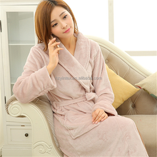 Polyester Fleece Hotel Bathrobe Cotton 5 Stars Hotel Bathrobe