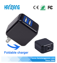 Folding wireless USB wall charger 5V 2A for mobile phone