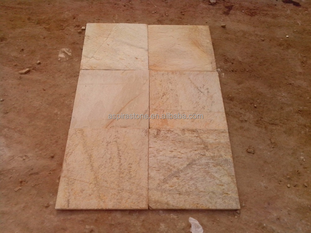 cheap beige interior and exterior wall slate floor tile