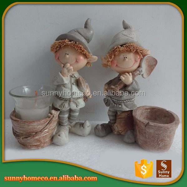 Handmade Crafts Custom Resin Child Figurines