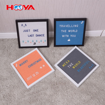 Amazon hot sale 10X10 inch felt letter board