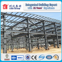 Exporting products light gauge steel structure buildings