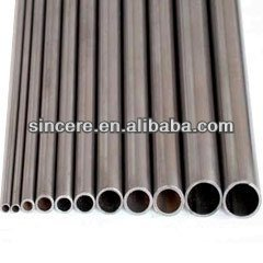 oval steel pipe/oval exhaust pipe ASME ANSI JIS GB Q195--Q235 any length straight welded galvanized surface treatment