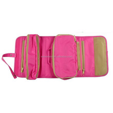 Hot Sale Convenient Foldable cosmetic bag travel cosmetic bag organizer
