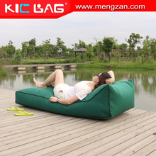 outdoor relaxing bean bag lounge recliner with back support