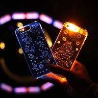 Hot Selling Light Up Incoming Call LED Flash Light Back Cover Case For IPhone5