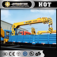 Top XCMG crane SQ10SK3Q 10 ton truck mounted mobile harbour crane