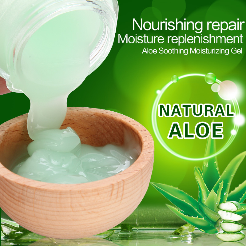 Aloe Soothing Gel with effect of powerful moisturizing and <strong>face</strong> whitening of aloe soothing Gel