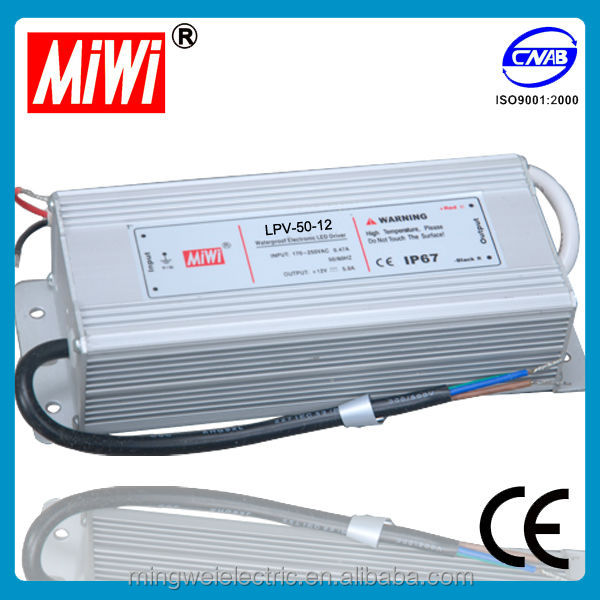 LPV-50-12 12V 2.5A Waterproof Switching Power Supply for Led, 220v ac to dc converter power supply