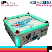 Air hockey table redemption arcade game machine with 4 Players