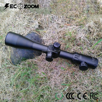 10x Zoom Etched Mil Green/ Red Dot Illuminated 2-20x44 Side Focus Rifle Scope High Power Sniper Tactical Scopes