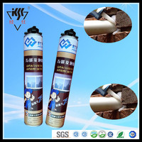 High quality 750ml all purpose polyurethane foam pu foam spray