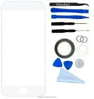 LCD for white mobie phone Iphone 6 plus