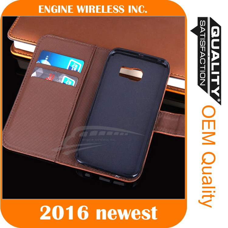 pu phone case cover case for lenovo s650 leather phone case