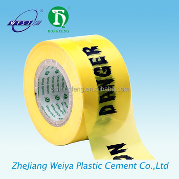 pe barrier warning tape eco friendly