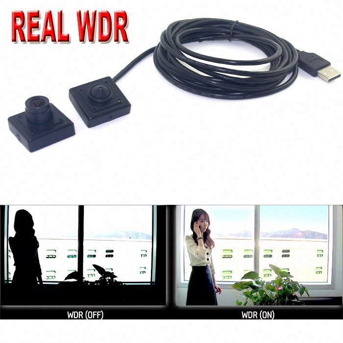 REAL WDR / HDR Free driver HD wide angle cmos mini digital usb 2.0 pc camera 30fps