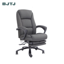 BJTJ luxury high back leather executive sleeping office chair for nap