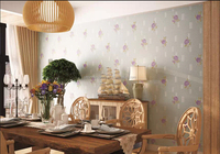 3D Bamboo Design Vinyl Wallpaper In China With Best Selling