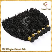Cheap and top quality afro kinky curly hair extension 100% virgin Indian human hair