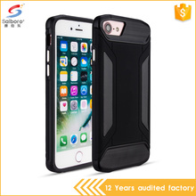 2017 new arrivals Black Hybrid Shockproof Hard Rugged Heavy Duty Phone Case for iPhone 7