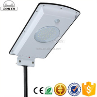 high luminance waterproof ip65 integrated solar led street light 15w