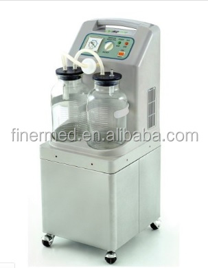 Mobile Electric surgical medical suction Aspirator