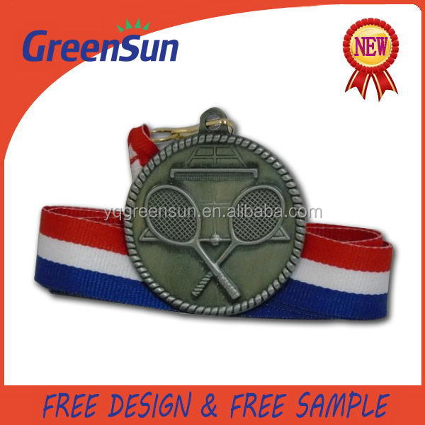 New Promotional Gift multicolor ancient metal medal medallion