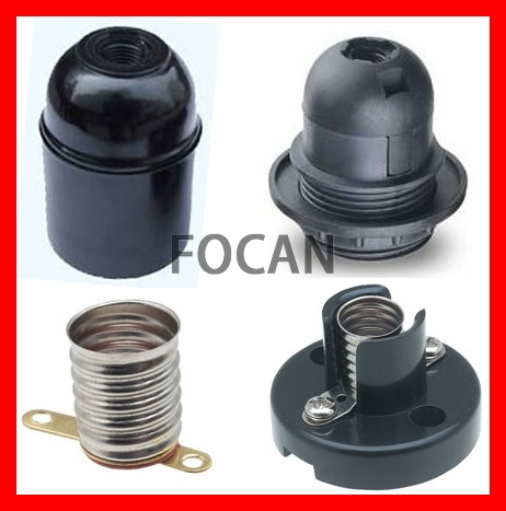 Lamp Holder & Light Socket & Bulb holder for E10, E12, E26, E27, B22 Type with CE, VDE, UL, SAA, RoHS