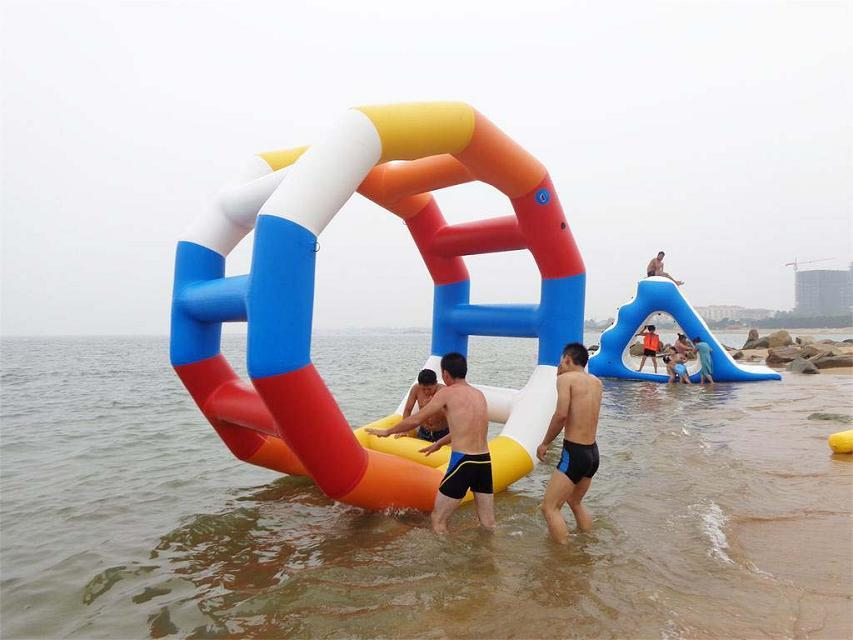Amusement Park Equipment Inflatable Banana Boat Fly Fish