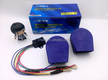 New development patented product 12v multi sound car horn more than 12 sound car horn Londness 129db musical horn