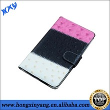 High quality hot selling leather wallet case for samsung Note 2.